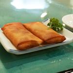 中国料理 盤古殿 - 春巻き