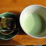 6699545 - お抹茶セット(\900)