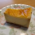 欧風菓子 クドウ - ベイクドチーズケーキ