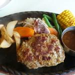 ジャンボ - 粗挽きハンバーグステーキ