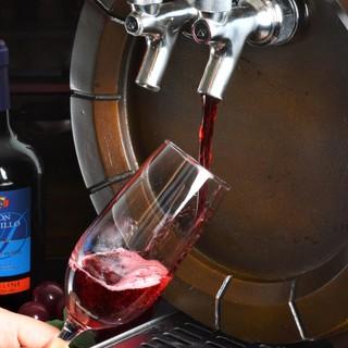 樽生スパークリングワインあり♪お洒落にカジュアル・イタリアン