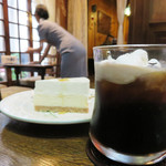 フランソア喫茶室 - ケーキセット。