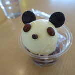 e-Cafe - 料理写真:パンダアイスカップ