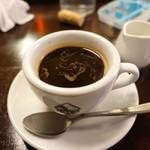 アンティカ・オステリア・ダル・ポンピエーレ - コーヒー