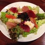 居酒屋 一ノ蔵 - お刺身海鮮サラダ