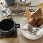サニー フード カフェ アンド ミュージック - 料理写真:サニーパフェセット ¥950