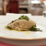 66993902 - 廿日市産牡蠣のソットオーリオ小松菜とサルサヴェルデ添え