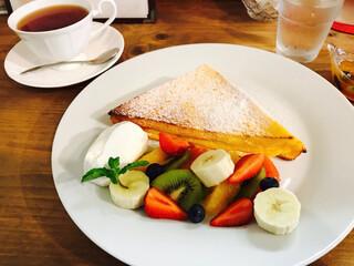 カフェ フェイト - リッチフルーツフレンチトースト