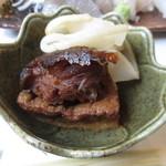 寿し膳かのこ - 石鯛、厚揚げ、切干大根の煮物