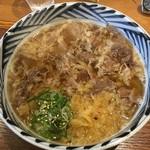 増田うどん - 増田肉うどん780円