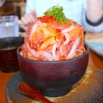 66996636 - 漁師の漬け丼 ¥2360円