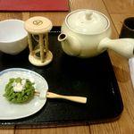 両国橋茶房 - 玉露(秘園玉露):830円