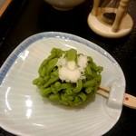 両国橋茶房 - 和菓子「新緑」