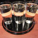 一富士 - 利き酒3点セット