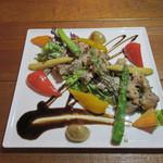 アマーリエ - 牛肉のタッリアータ