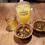 ニライカナイ うぶや - 沖縄っぽく柑橘系のシークワーサー割り