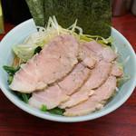 武蔵家 - 料理写真:チャーシューネギ味玉ラーメン
