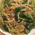 67004675 - 具は豚肉、小松菜、椎茸、白菜、タケノコ