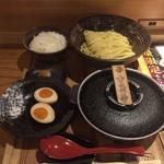 元祖めんたい煮こみつけ麺 - めんたい煮込みつけ麺セット