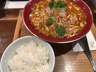 新潟 三宝亭 東京ラボ 中目黒店 - 酸辣湯麺