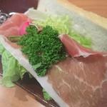 食パン専門店 利 - プロシュートとマスカルポーネチーズ