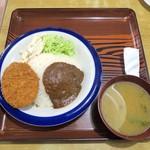常盤仙食堂 - トルコライス¥520