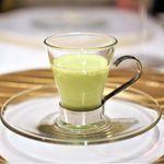 ディリット - えんどう豆と新玉葱のスープ