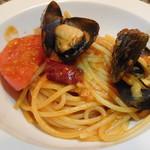ラ・コシーナ・デ・ゲン - ガルシア産ムール貝とフルーツトマトのアラビアータ