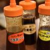 Misutabaku - 料理写真:ソースも3種類あります