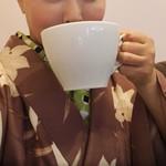 ハセイチ珈琲 - 京都でビッグなコーヒーを頂きました(笑)。