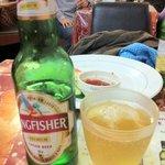 バラト - キングフィッシャー。インドのビール