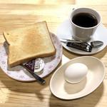 土日カフェ 楽市楽座 - モーニングサービス