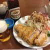 清水屋 - 料理写真:上ロース単品1000円 瓶ビール(中瓶)500円