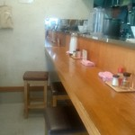 麺鯉 - カウンター席7