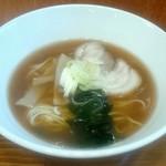 麺鯉 - 煮干中華そば700円
