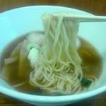 麺鯉 - 菅野製麺所/細麺ストレート
