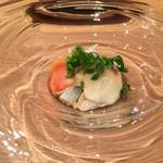 日本料理 e. - アワビ 赤貝 つぶ