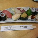 東寿司 - ランチ寿司