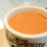 香港 贊記茶餐廳 - 香港式ミルクティー(熱)@330円