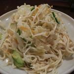 67017744 - 細切り押し豆腐サラダ