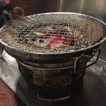 67018258 - 炭で焼くのは楽しいなぁ〜〜(╹◡╹)