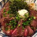 totoguranemuro - エゾ鹿ロースト丼