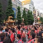 魚蔵 ねむろ - 今日は秋葉原のホコ天は神田祭神輿宮入でした