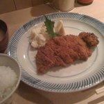 カフェ マメヒコ パートⅢ - ヒレカツ定食@1800円