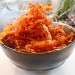 マイキムチ&コリアンデリ ハンアリ - さきいかキムチ