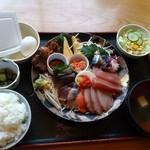 67021537 - 刺身定食780円