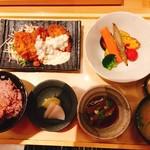 五穀 - 料理写真:2番人気の青空定食♬