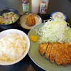とんかつ太郎 - 料理写真:八重山そばセット+揚げシューマイ