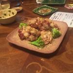海里 - 鶏の唐揚げハニーマスタード