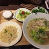 プァン・ペッ 浦和 - 料理写真:クイティアオガイ・パクチーランチセット